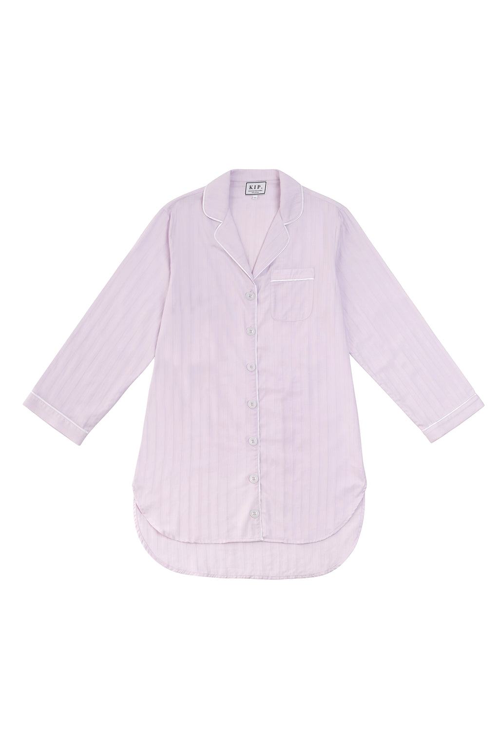 Premium Cotton Nightshirt in Lavender
