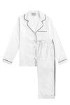 Premium Cotton Pajama Set in Monochrome