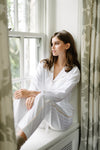 Premium Cotton Nightshirt in Soft Rose
