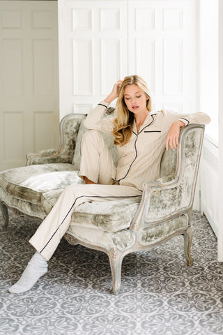 Birds of a Feather Pajama Set
