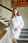 Premium Cotton Robe in Champagne