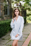 Premium Cotton Pajama Set in Soft Rose