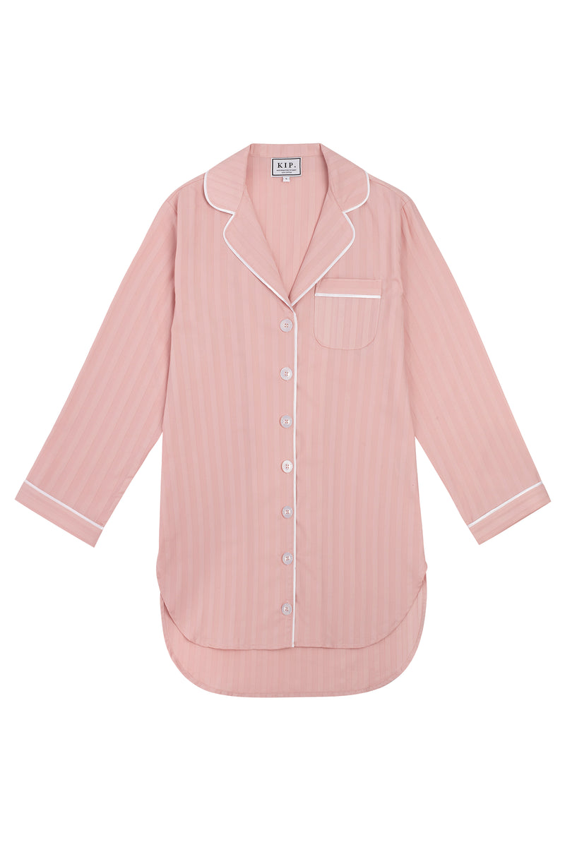 PREORDER | Premium Cotton Nightshirt in Soft Rose