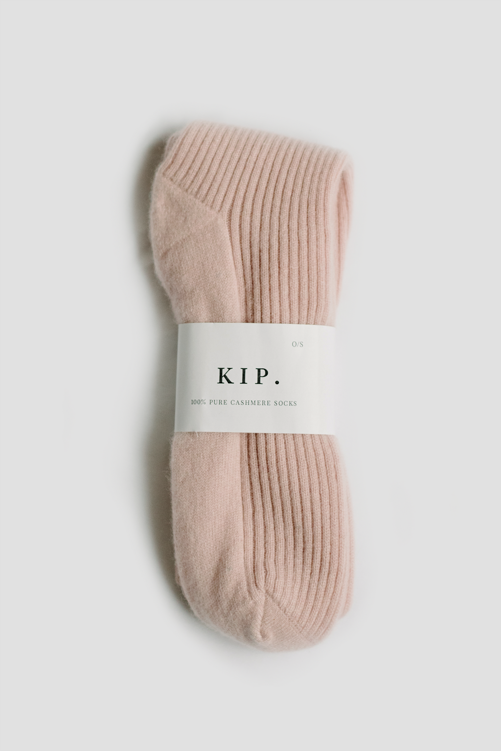 Cashmere Sleep Socks in Rose