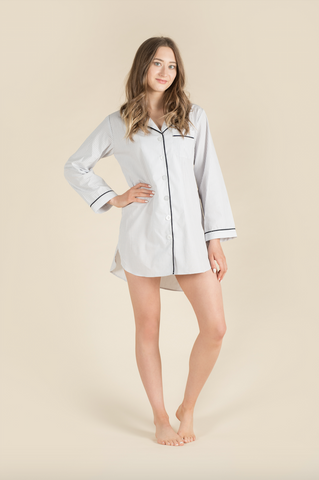 Blue Dot Nightshirt