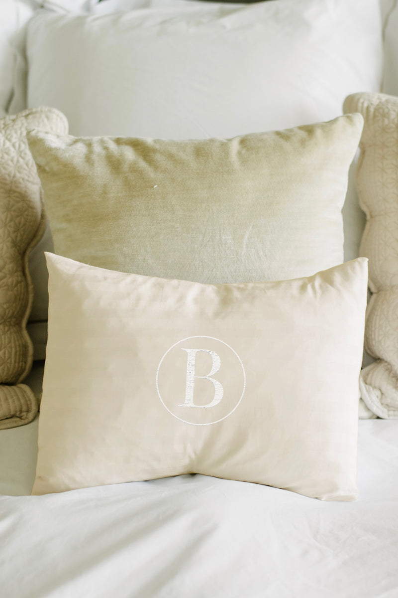 Monogram Mini Pillow