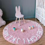 Alphabet Mat in Pink