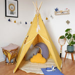 Premium Teepee in Autumn + Mat Bundle