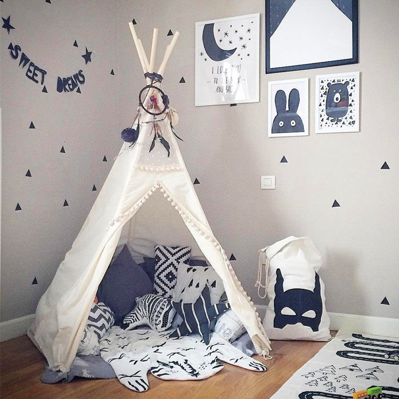 Premium Teepee in Fairytale + Mat Bundle