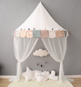 Wall Tent in Floral + Mat Bundle