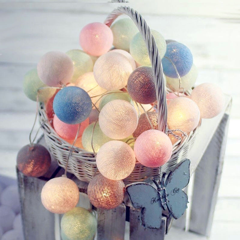 Gum Ball Lights in Multi