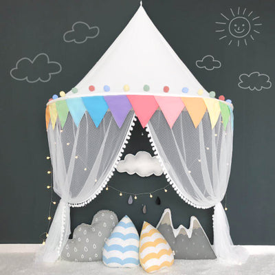 Wall Tent in Rainbow + Mat Bundle