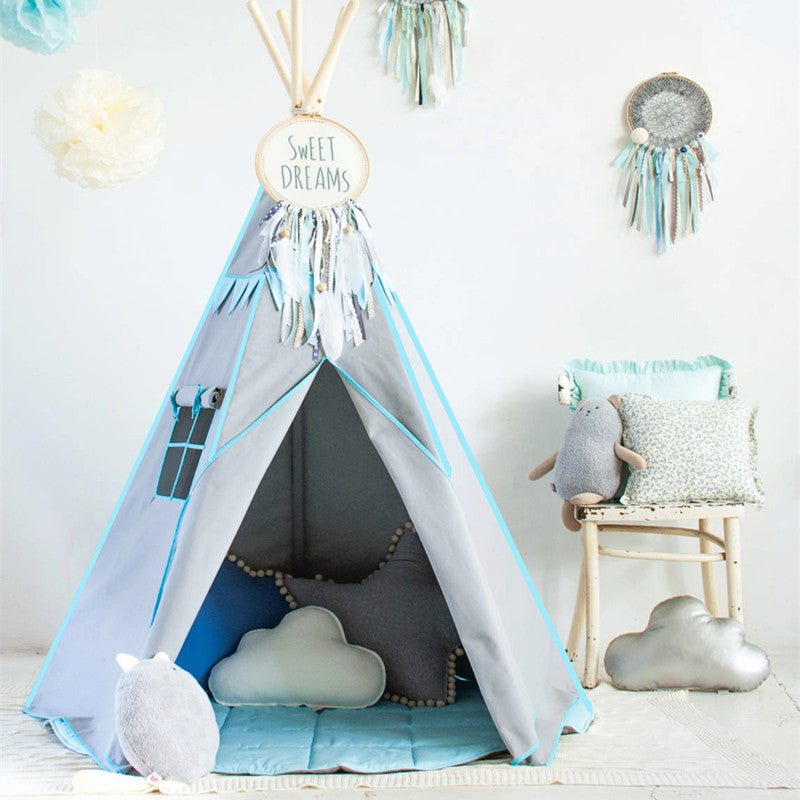 Premium Teepee in Sailor + Mat Bundle