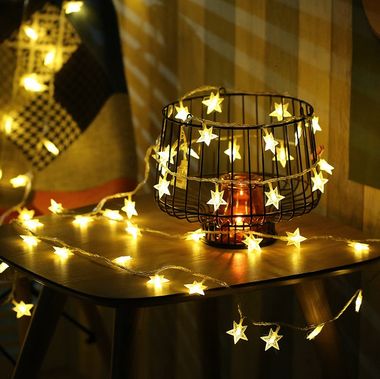 Fairy Lights in Star