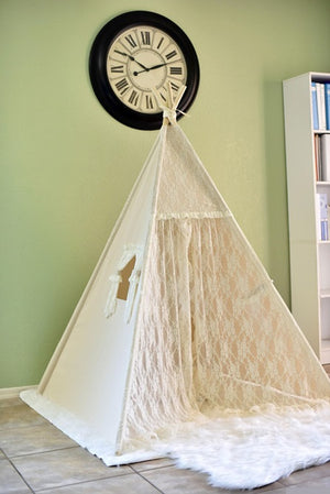 Premium Teepee in Lace