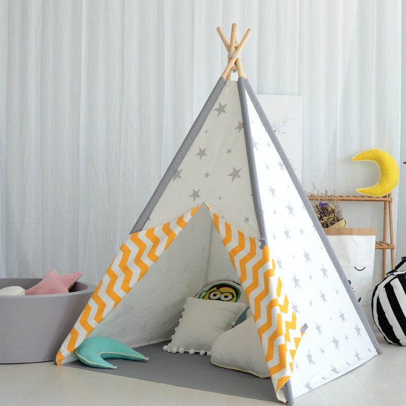 *Exclusive* Teepee in Wish Upon A Star + Mat Bundle