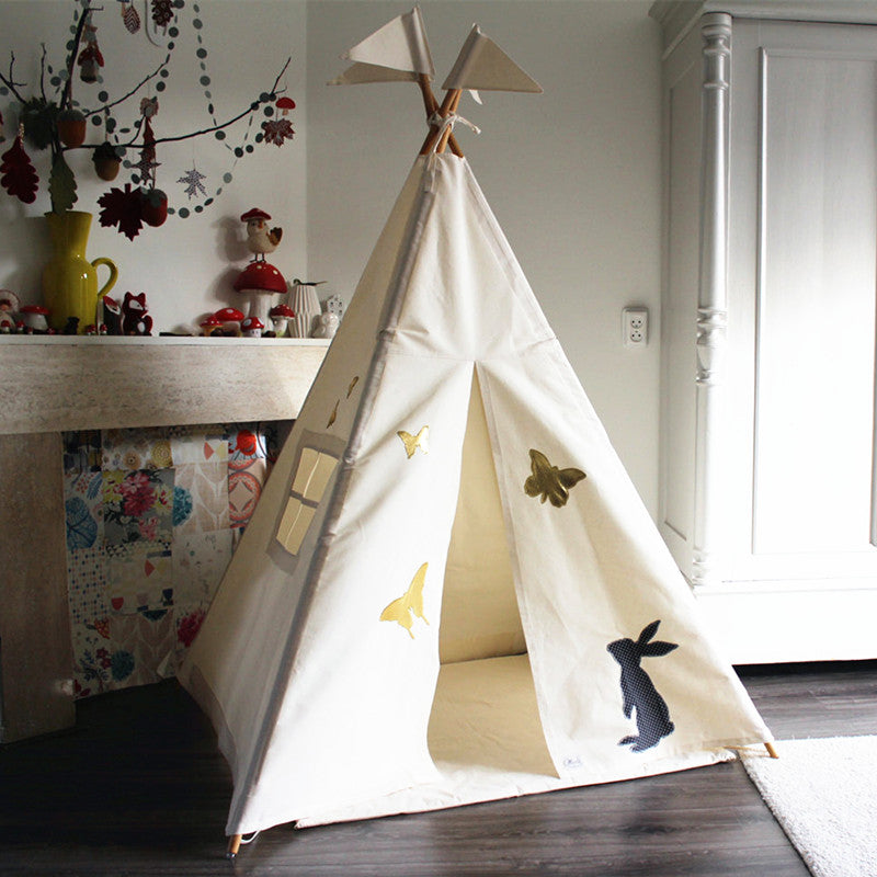 Premium Teepee in Whimsical + Mat Bundle