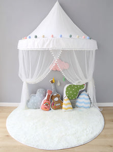 Wall Tent in White + Mat Bundle