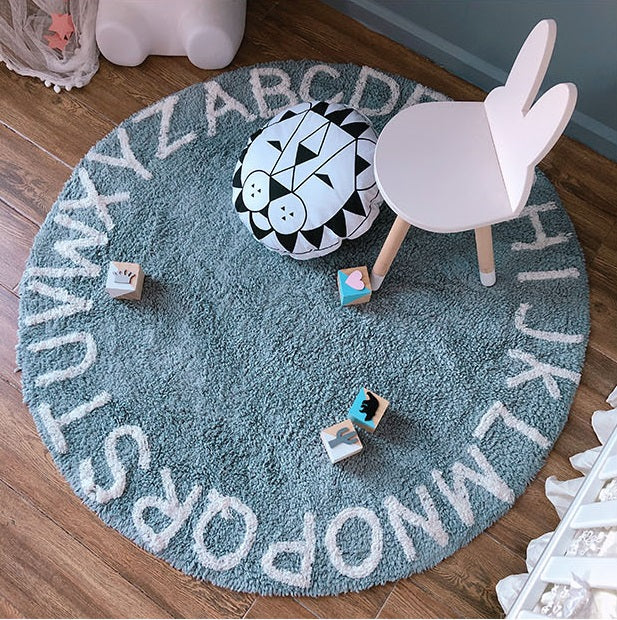 Alphabet Mat in Gray