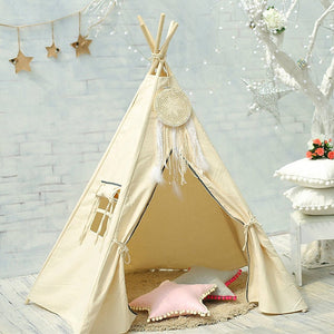 Premium Teepee in Boho Cream