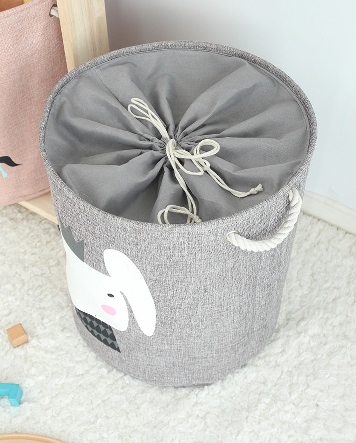 Storage Basket in Whale