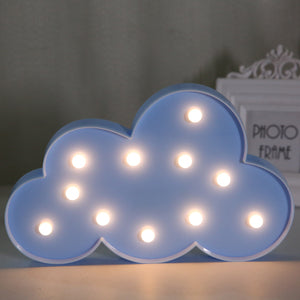 Cloud LED Light in Blue