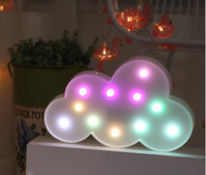 Cloud LED Light in Multi