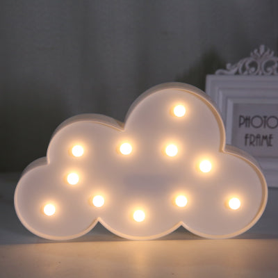 Cloud LED Light in White
