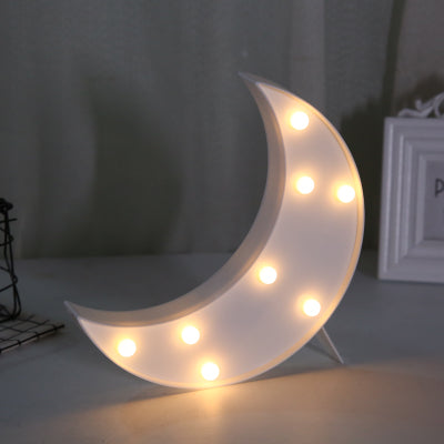 Moon LED Light in White