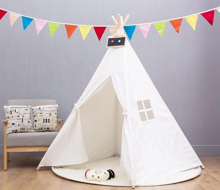 Basic Teepee in Purity + Mat Bundle