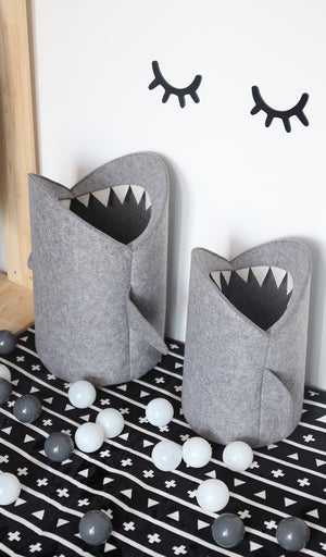 Shark Attack Storage Basket
