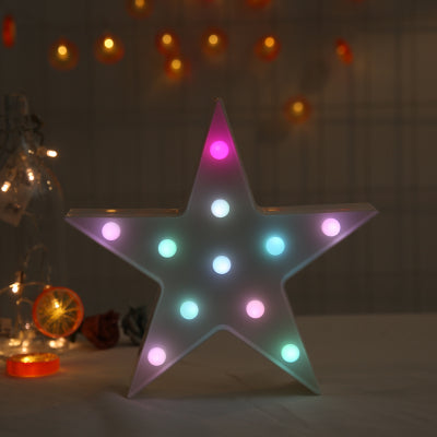 Star LED Light in Multi