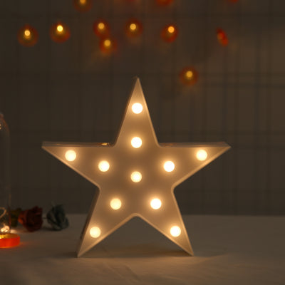Star LED Light in White