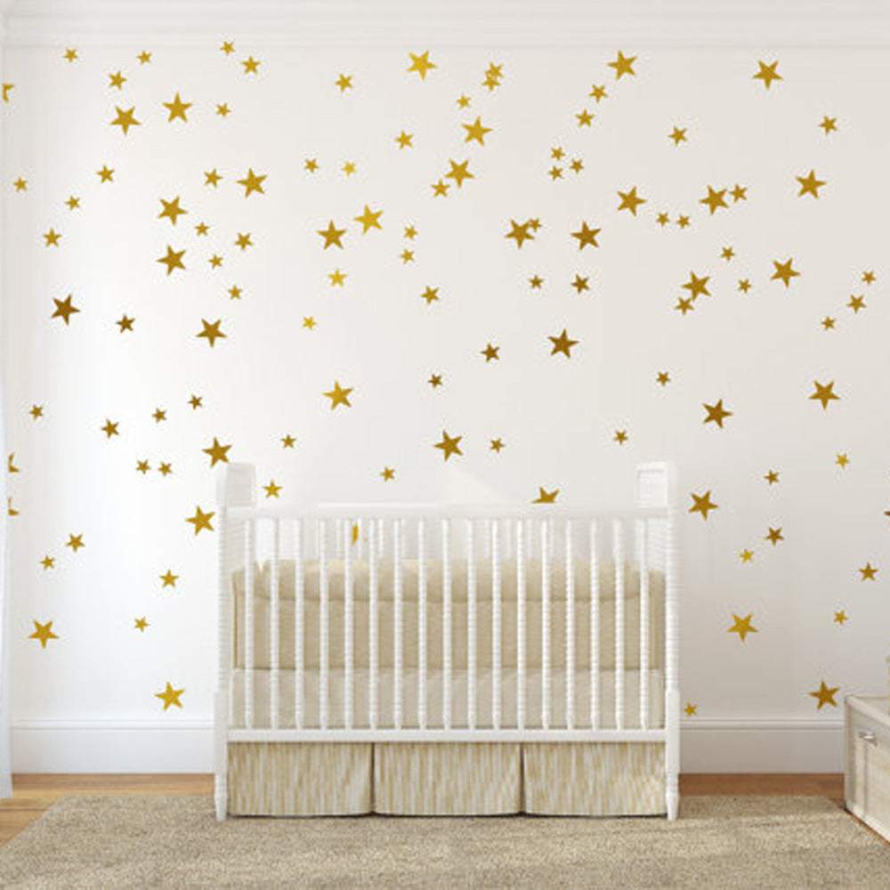 Star Wall Sticker in Gold