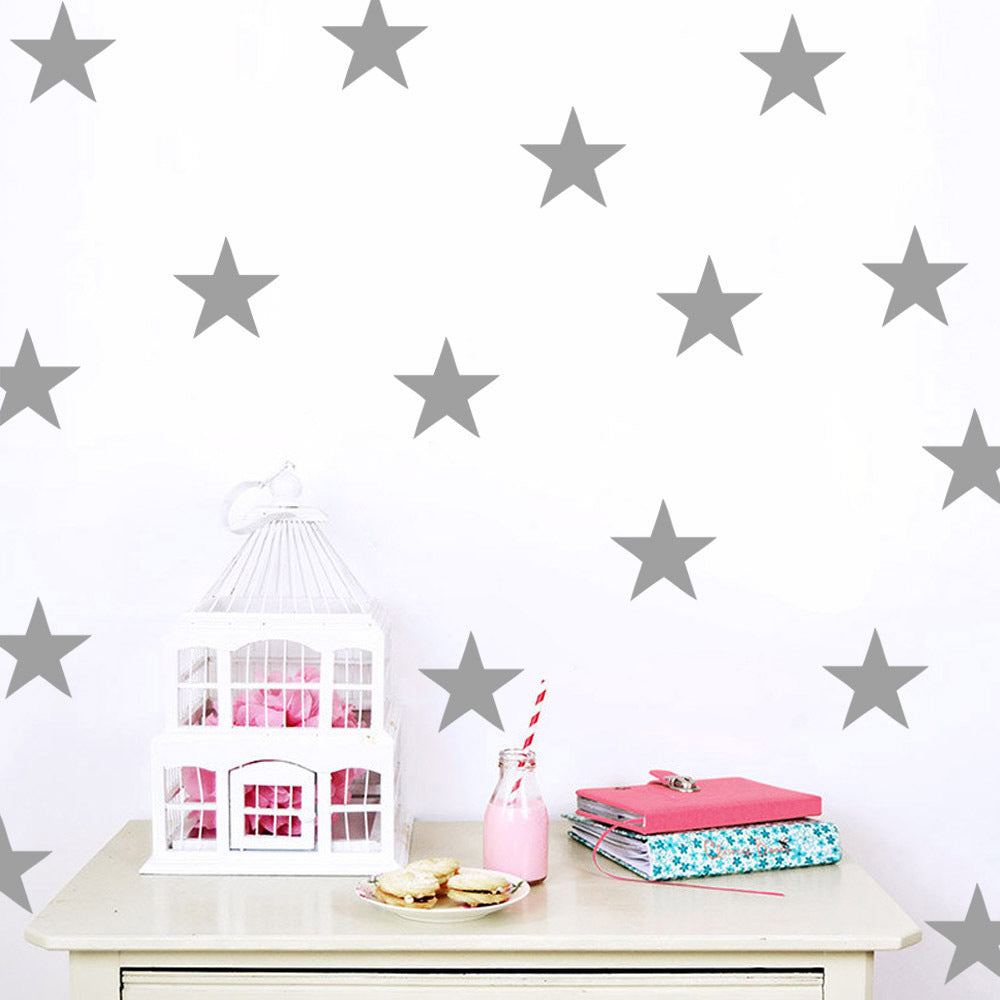 Star Wall Sticker in Silver