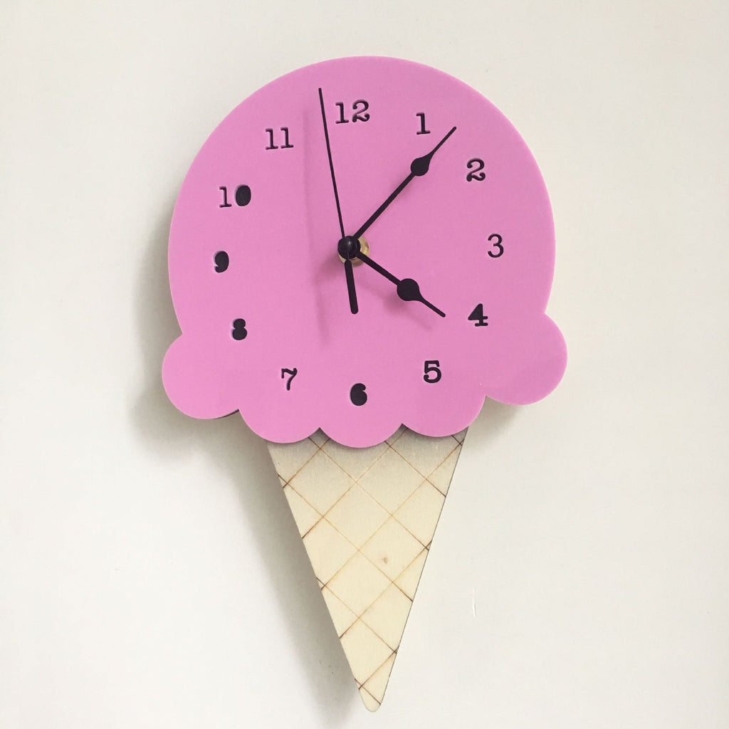 Ice Cream Clock in Taro