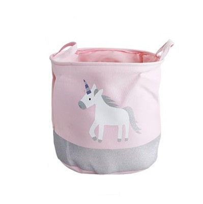 Storage Basket in Pink Unicorn