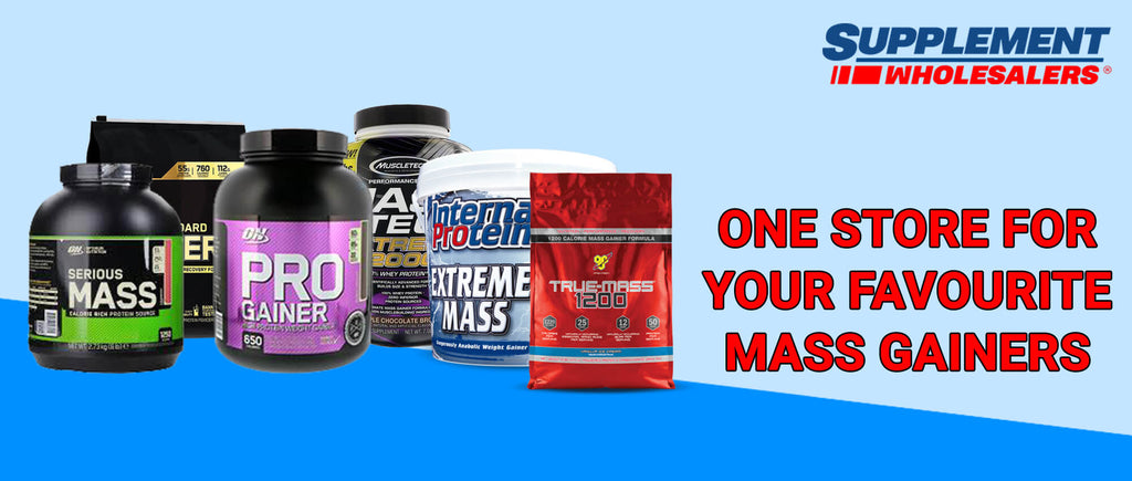 One Store for Your Favourite Mass Gainers