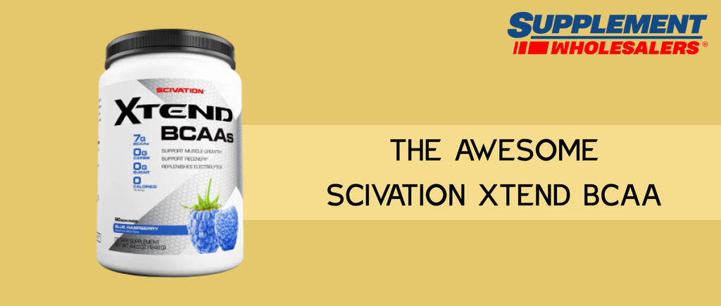 The Awesome Scivation Xtend BCAA