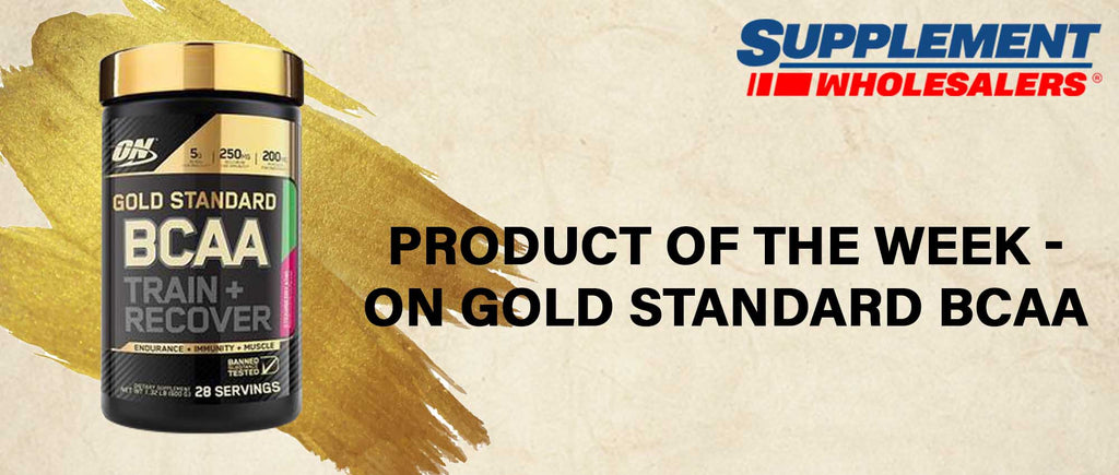 Product of the Week - On Gold Standard BCAA