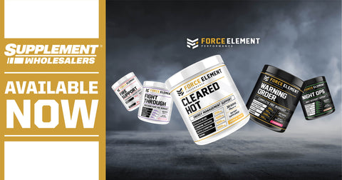 Force Element products are now available at supplement wholesalers