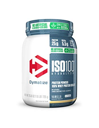DYMATIZE ISO100 NATURAL 100% Hydrolyzed Whey Protein Isolate