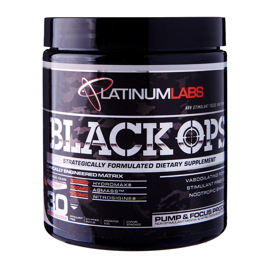 Platinum Labs Black Ops Pre-Workout