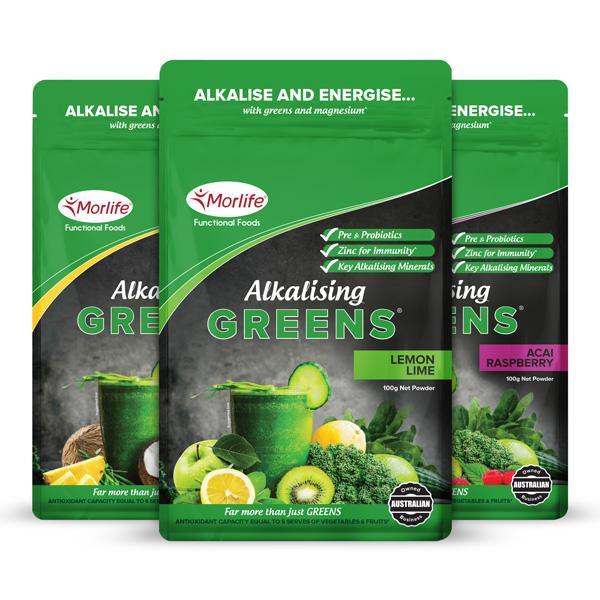 Morlife Alkalising Greens Powder