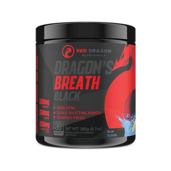Red Dragon Dragons Breath Black