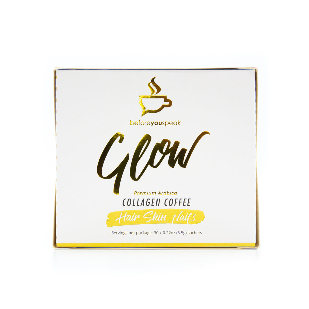Before You Speak GLOW - Collagen Coffee