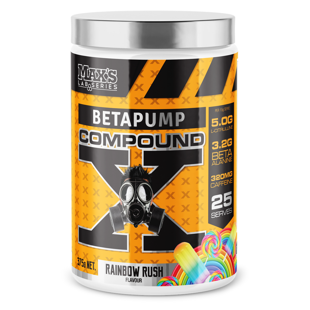 MAXs Betapump Compound X Preworkout