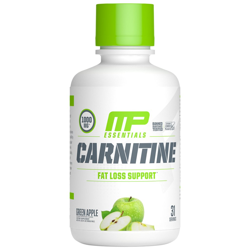 MusclePharm Essentials Carnitine Liquid - Fat Loss Support