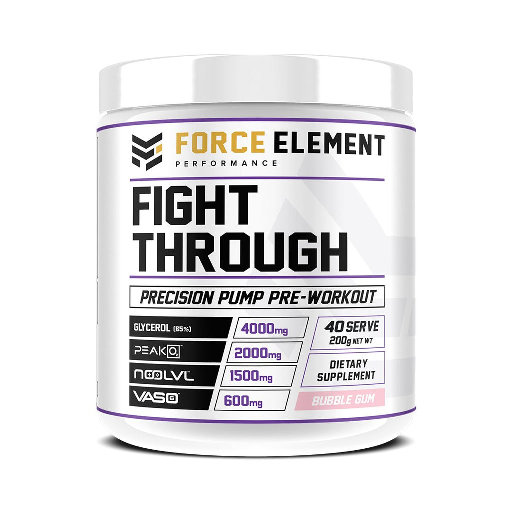 Force Element Fight Through 200g Pump Pre Workout