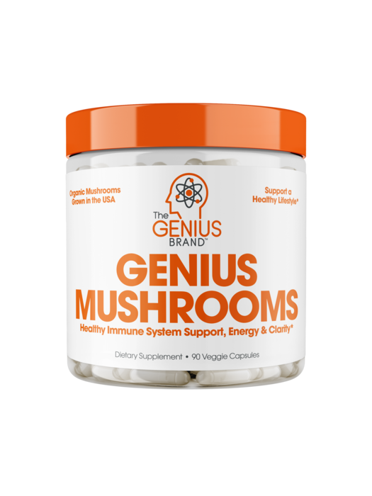 The Genius Genius Mushrooms - 90 Capsules